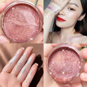 2021 new trend high pigmented glitter gel  eye shadow palette best quality