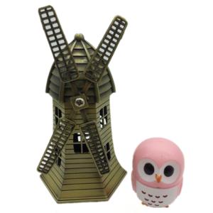 4 Colors Owl Shape Organic Smoothing Nourish Private Label Custom Lip Balm - 888021