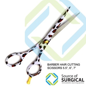 Barber hair scissors Wholesale Beauty Salon Equipment Hair Scissors 440C
