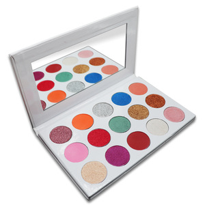 custom colors 15color Cosmetics make your own brand best eyeshadows,latest eye shadows with mirror