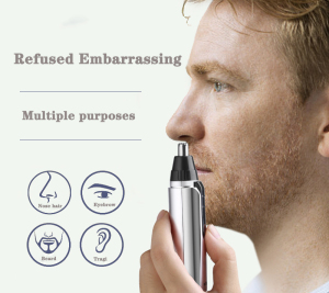 Electric Cordless Mini Rechargeable Nose Ear Hair Trimmer
