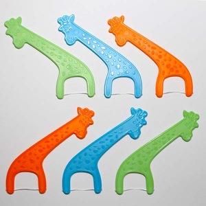 FDA Approval Children Animal Design Dental Flosser