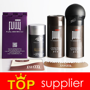 Hair thinning products keratin hair building fiber powder brazilian hair treatment