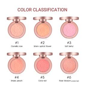 Hot selling O.TWO.O professional Facial Blush Powder Makeup Blush 6 colors