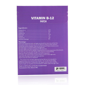 Hot selling personal body care products vitamin b12 slim patch