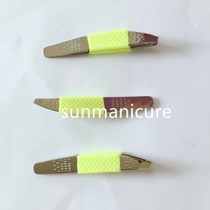 mini size Stainless Steel Multi-Function Nail Clip Manicure Nail Art Tool Tweezers