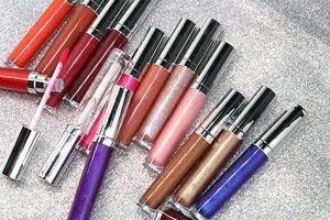 NEW wholesale vegan lipgloss vendor oem custom logo lip gloss