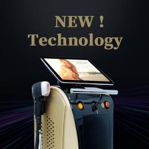 16bars 1600W 808nm diode laser 3 wavelengths diode laser 755 808 1064 Diode Laser Hair Removal Machine
