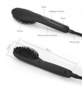2018 electric ceramic hair straightener comb