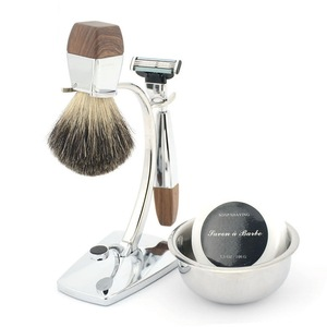 AIDEN--Wholesale shaving razor stand,travel shaving kit for man/china supplier beard brush set