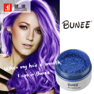 Blonde Black 8 Color Hair Paint Styling Elegance Dye Coloring Hair Wax