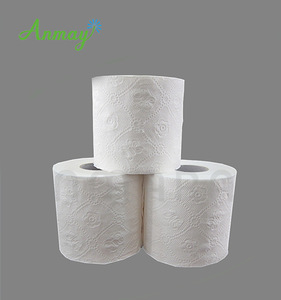 China Big Factory Good Price silk soft toilet tissue shiny paper sanitary with