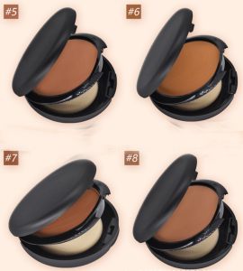 cosmetics makeup factory price Professional Face Makeup Pressed Powder rich in mineral soft concealer compact powder