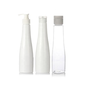 Custom Eco Friendly Empty PLA Plastic Biodegradable Cosmetic Packaging Shampoo Bottles with Pump cap, flip cap ect..