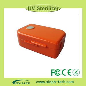 Factory direct sale 253.7nm wavelength UV light best travel choice mini toothbrush sanitizer
