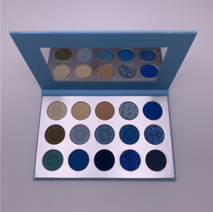 Makeup palette with your own brand name custom eyeshadow palette