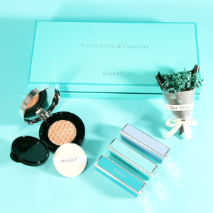 MANSHILI lipstick set air cushion packaging private label oem/odm luxury makeup starry sky gift box makeup set