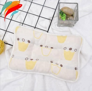 Manufacturer Supply Newborn Prevent Flat Head Organic Cotton Baby Pillow