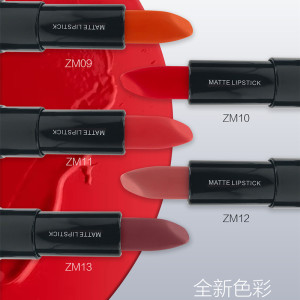 Matte lipstick 13 colors available waterproof long lasting matte lipstick