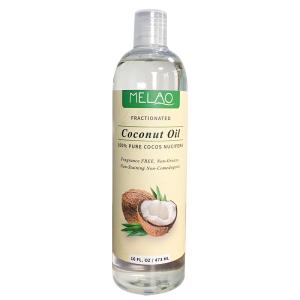 MELAO 100% Organic Pure Coconut Oil for Skin Care 473ml Wholesale