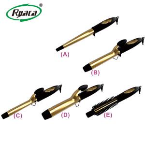 RYACA classic design rotating hot tools hair curling iron
