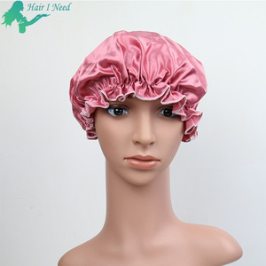 silk night cap satin bonnets sleep hair cap for hair care
