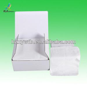 white soft facial tissues