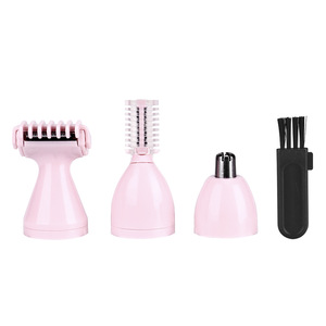 wholesale barber supplies with salon rechargeable battery clipper and manual hair nose trimmers