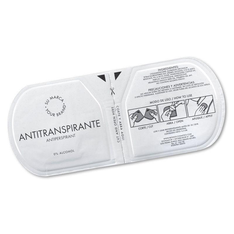 ONEUSEDEO Single use deodorant or antiperspirant