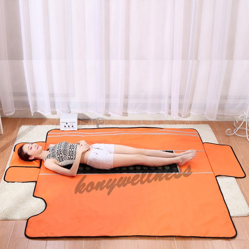 Popular New Style 3 Zone Far Infrared Sauna Blanket for Body Health Care