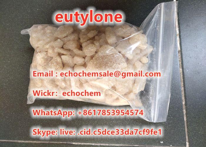 Brown color high purity eutylone crystal Eutylone eu Best research chemical WhatsApp: +8617853954574
