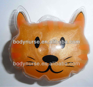 55ml cat shape pearlescent bubble bath in PVC bag