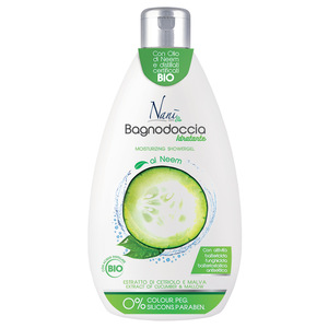 Bio Moisturizing Shower gel with Cucumber & Mallow