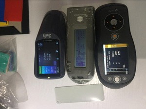 Color-matching chroma meter portable paint colour spectrometer with UV