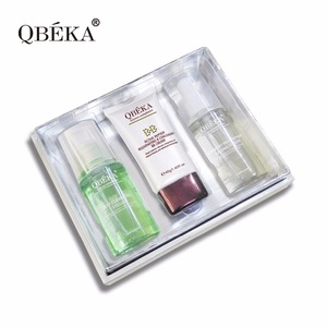 Convenient QBEKA Ferment Polypeptide Fading Serum Sets Skin Care Set Travel Set
