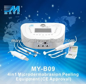 MY-B09 4in1 diamond dermabrasion peeling machine / portable High frequency (CE certification)