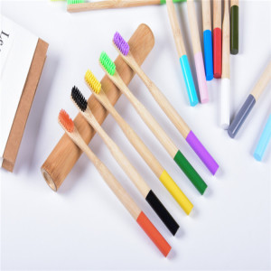 New Product Ideas Custom Biodegradable Moso Bamboo Toothbrush Bamboo Toothbrush Wholesale