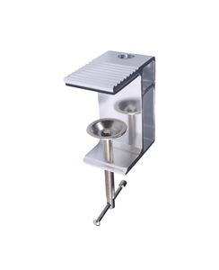 Novelty shape European stylish flexible arms aluminum adjustable led magnify lamp