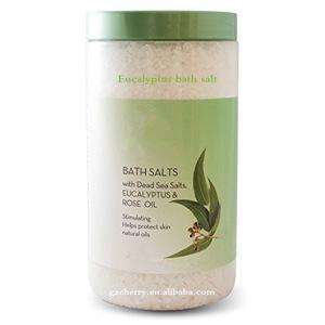 OEM Natural Dead sea bath salt with eucalyptus essential oil