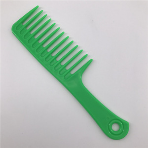 Personalized OEM Wide Tooth Plastic Big Hair  Comb