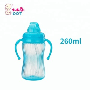 Plastic Kids Straw Bottle Baby Care Products Easy Drink Durable PP Toddler Drinking Bottle