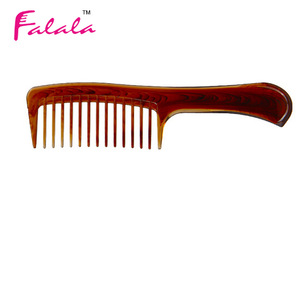Plastic Wide Tooth Flat Top Hair Comb