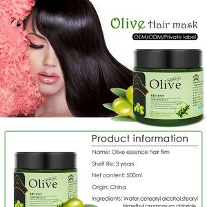 Professional argan oil hair mask olive essence hair treatment for hair care
