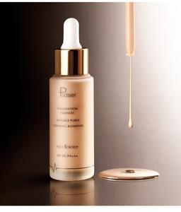 Professional Whitening Liquid Foundation Makeup Moisturizer Cream Face Base Make Up Long Lasting Brighten Matte Mineral Primer