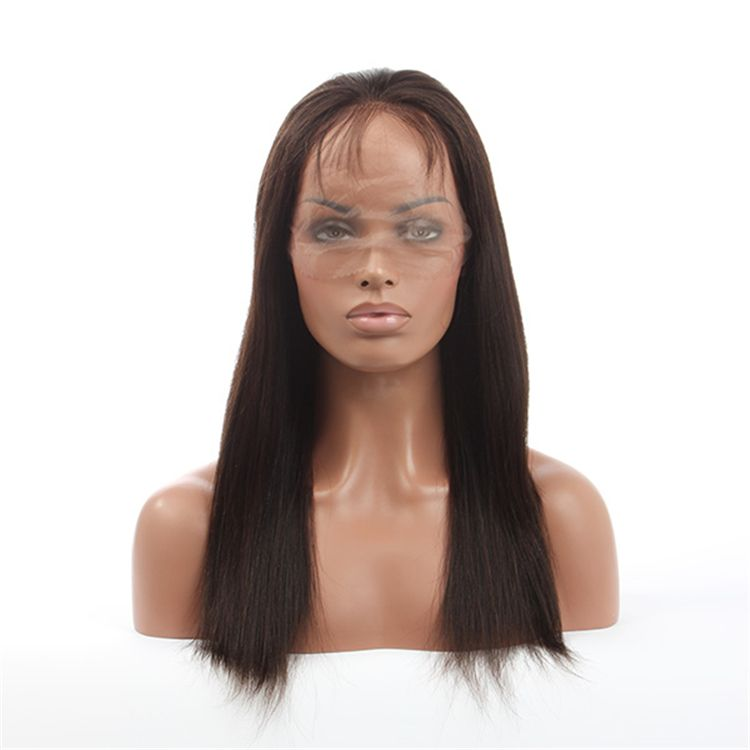 "High quality Indian hair 4"" frontal lace front wigs"