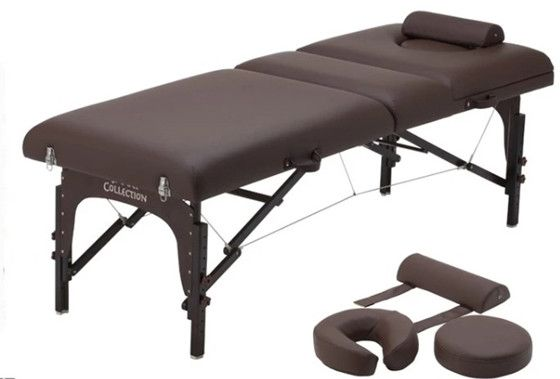 3 section wooden massage table, top quality massage table