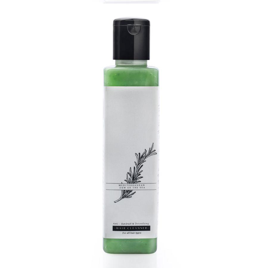 Timeless Beauty Secrets Organic sulfate free, paraben free, silicone free vegan anti dandruff shampoo