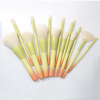 Pro Gradient Color 14pcs Makeup Brushes Set Soft Cosmetic Powder Blending Foundation Eyeshadow Blush Brush Kit Make Up Tools