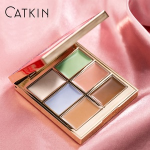 CATKIN Eternal Love 7.2g Brocade in Clouds Contouring Concealing Cream Palette Liquid Color Corrector Concealer Wholesale