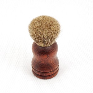 Customized Wooden handle Shaving brush with Synthetic/Bristles hair